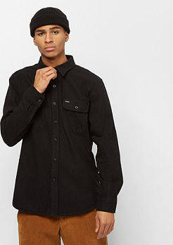 Brixton Bowery Solid L/S Flannel black