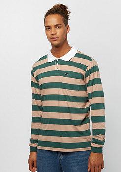 Brixton Richland L/S Polo khaki/green