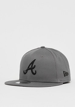New Era 9Fifty MLB Atlanta Braves Essential storm gray/black