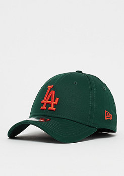 New Era 39Thirty MLB Los Angeles Dodgers Essential dark green/orange
