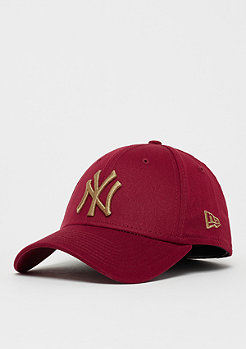 New Era 39Thirty MLB New York Yankees Essential cardinal/wheat
