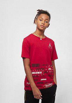 JORDAN Junior Half Court gym red