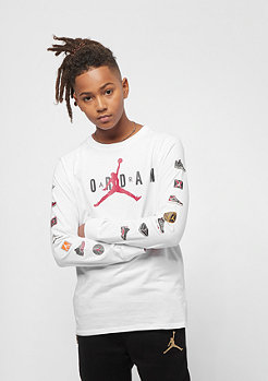 JORDAN Junior Pinned Up L/S white