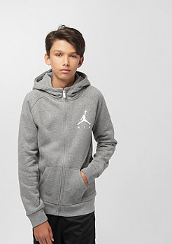 JORDAN Junior Jumpman Fleece FZ carbon heather