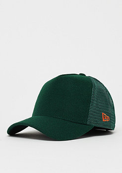 New Era A-Frame Trucker Winter Utility Melton dark green