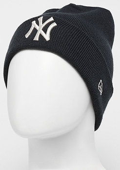 New Era Cuff Knit MLB New York Yankees Essential navy/stone
