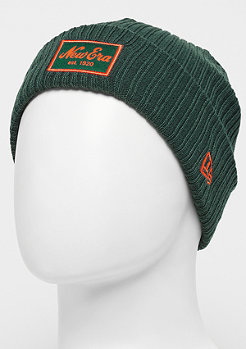 New Era Long Knit Winter Utility Short dark green/orange