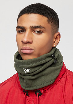 New Era Fleece Neckgaiter olive/optic white