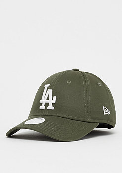 New Era 9Forty Wmns MLB Los Angeles Dodgers Essential olv/otc wht