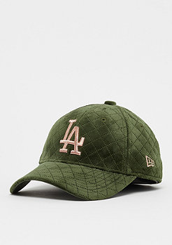 New Era 9Forty Wmns MLB Los Angeles Dodgers Winter olive/rose gold