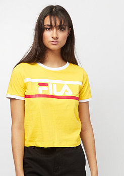 Fila FILA Urban Line Tee WMN Ashley cropped empire yellow