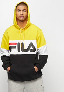 Fila FILA Urban Line Hoodie Night Blocked black/empire yellow/bri