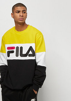 Fila FILA Urban Line Crew Sweat Straight Blocked black/empire yel
