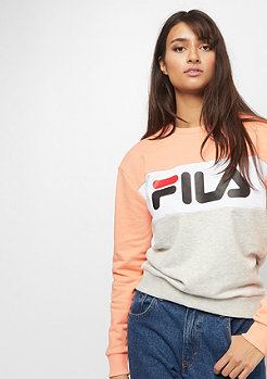 Fila Urban Line Crew Leah light grey, salmon, bright whit