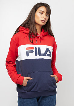 Fila FILA Urban Line Hoodie WMN Lori Sweat black iris,true red,br
