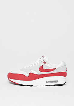 NIKE Air Max 1 Anniversary white/university red-neutral G