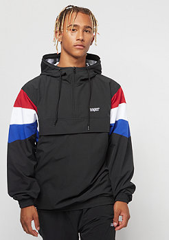 SNIPES Block Windbreaker black red white blue