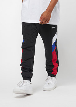SNIPES Block Trackpants black red white blue