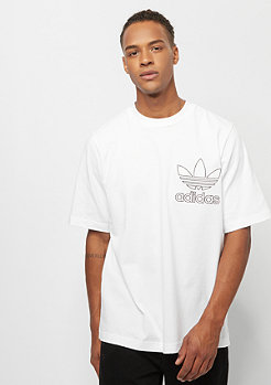 adidas Outline Tee white