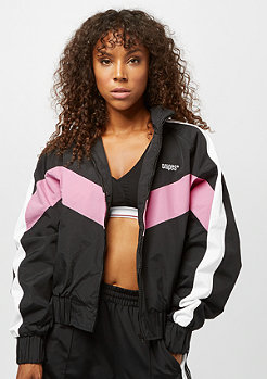 SNIPES Block Trackjacket black white pink
