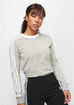 adidas 3 STR LS medium grey heather