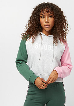 SNIPES Small Basic Logo grey green pink