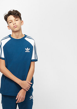 adidas 3 Stripes Tee legend marine/white