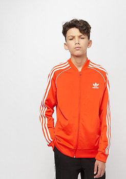 adidas Junior Superstar Top active orange/white