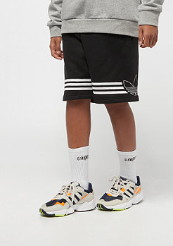 adidas Junior Outline Shorts black/white