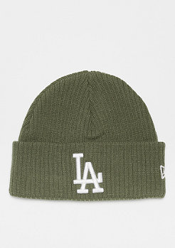 New Era Cuff Knit WMNS MLB Los Angeles Dodgers Essential olv/op wht