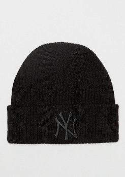 New Era Cuff Knit WMNS MLB New York Yankees Essential black/black