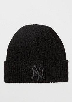New Era Cuff Knit WMNS MLB New York Yankees Essential black/black