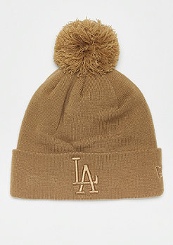 New Era Bobble Cuff WMNS MLB Los Angeles Dodgers Essential wheat