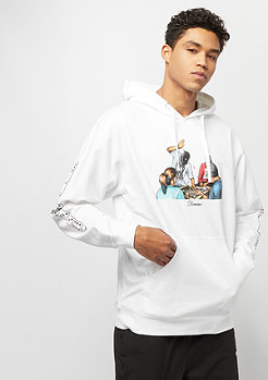 DGK Domino Hooded Fleece white