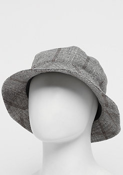 Brixton Hardy W Bucket grey plaid