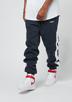 SNIPES Block Trackpants navy/white