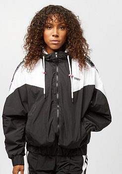 SNIPES Tape Block Trackjacket black white