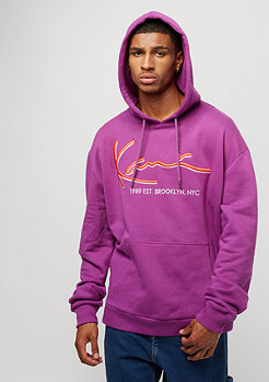 Karl Kani Signature purple orange
