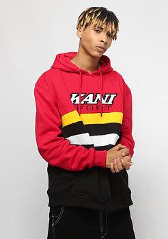 Karl Kani KK Sport Block Hoodie red yellow black white