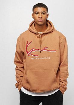 Karl Kani Signature Hoodie brown