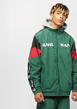 Karl Kani KK Retro Trackjacket green red black