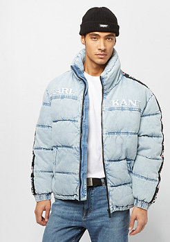 Karl Kani KK Retro Denim Puffer Jacket blue