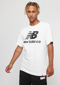 New Balance Essentials Stacked Logo white