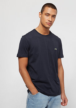 Lacoste Short Sleeved Crew Neck marine