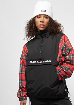 Karl Kani KK Check Windbreaker black red green
