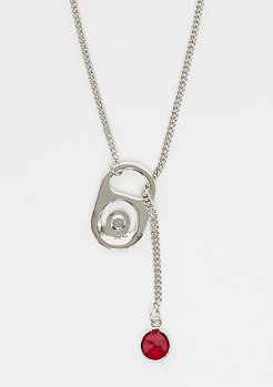 Cheap Monday Soda Necklace rhodium