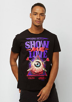 Cheap Monday Standard Tee Love Poster black