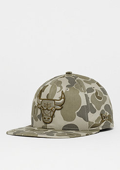 New Era NBA 9FIFTY Chicago Bulls Camo steel clouds/black