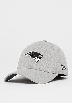 New Era 39Thirty NFL New England Patriots Heather gray/black