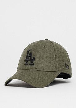 New Era 9Forty MLB Los Angeles Dodgers Heather army/black